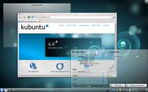 Kubuntu, distro baseada no Ubuntu