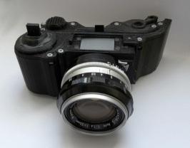 Câmera impressa